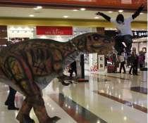 Роботизированный костюм динозавра с множеством функций, в Москве