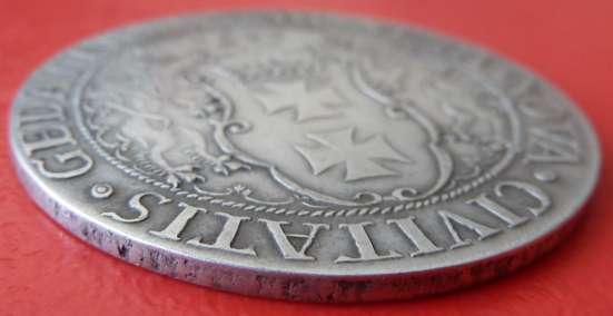 Польша Данциг Осадный талер 1577 г. №1 в Орле Фото 1