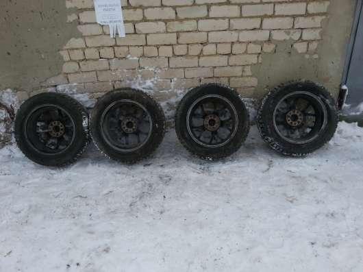 Предлагаю приобрести четыре колеса с дисками от Пежо 407