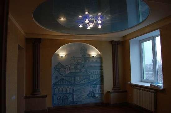 Натяжные потолки в Москве Фото 1