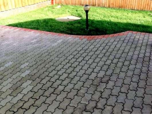 Тротуарная плитка (брусчатка), укладка