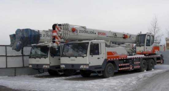 Автокран Zoomlion QY25V532