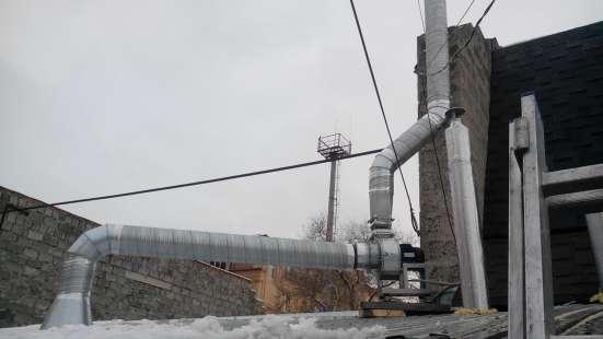 Монтаж вентиляции в Оренбурге Фото 1