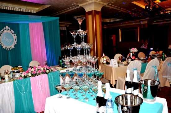 Красивое оформление свадеб в Москве Фото 2