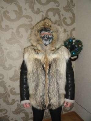 шубу из эвенкийского, таежного волка