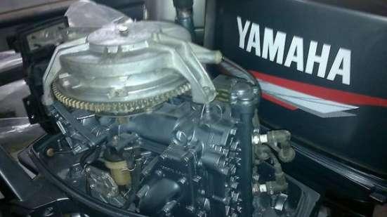 отличный лодочный мотор YAMAHA 25 , нога короткая S из Японии