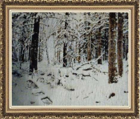 Тканые картины-гобелены: СПб и природа. Купонами и в багете