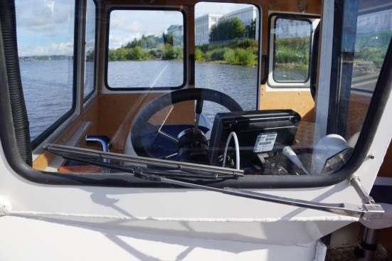 КАлюминиевый катер Баренц 800С в Архангельске Фото 4