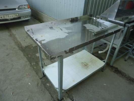 Стол для разделки рыбы (нержав. сталь)