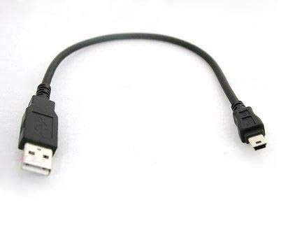 Кабель USB - miniUSB 20см