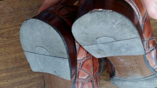 Туфли кожаные. Lucio Righertto.тиснение под крокодила.43 р-р в Краснодаре Фото 4