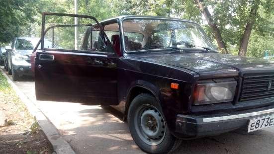 Продажа авто, ВАЗ (Lada), 2107, Механика с пробегом 60000 км, в Сургуте Фото 3