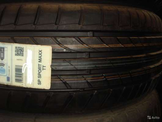 Новые Dunlop 205/50ZR17 Sport Maxx TT XL в Москве Фото 1