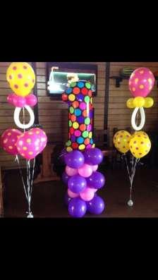 Гелиевые шары, фигуры, цветы с доставкой в Краснодаре Фото 2
