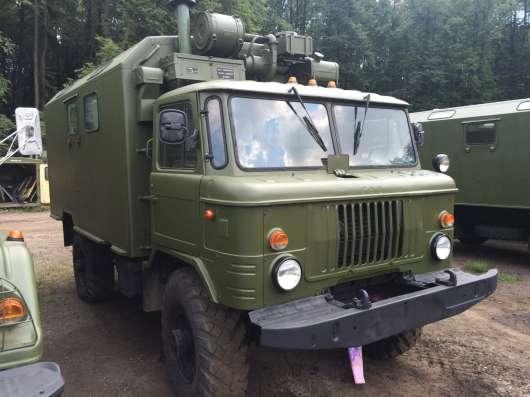 ГАЗ 66 Кунг, вездеход, военное хранение