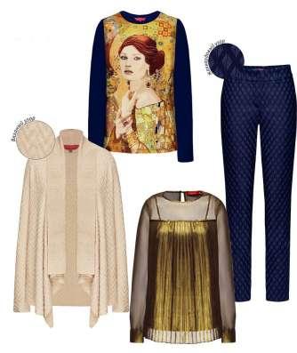 Платья, брюки, пуховики, аксессуары