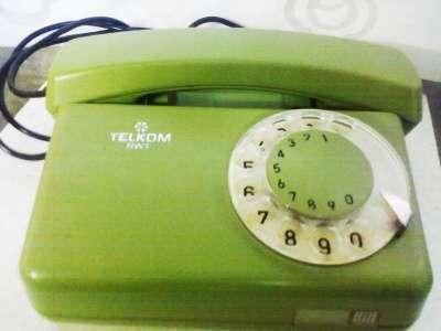 Телефон дисковый Польша Telkom RWI