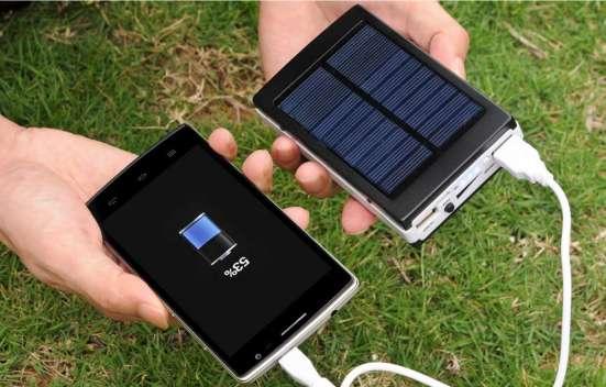 Power bank solar 20000mAh + мощный фонарь!
