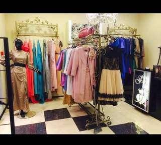 Магазин женской одежды в ТЦ высокого класса