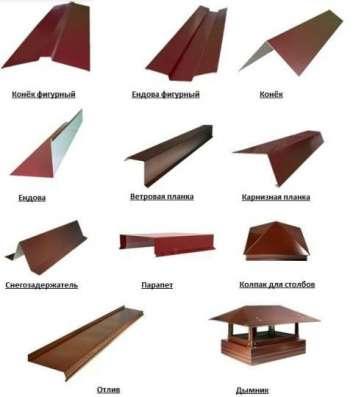 Изготовление Металлоизделий для кровли и фасадов