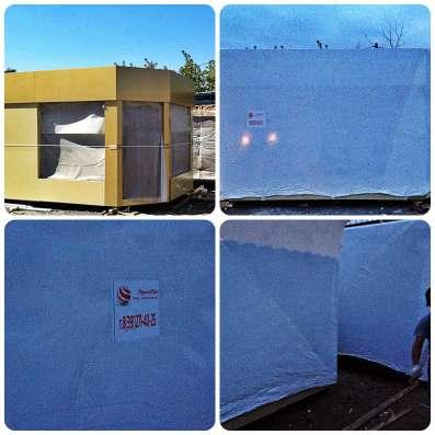 Упаковка блок-контейнеров для транспортировки