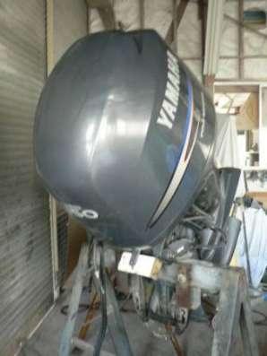 отличный лодочный мотор YAMAHA F150, нога L из Японии, 4-х тактный, 2001 г., в Владивостоке Фото 1