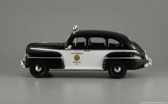 полицейские машины мира №50 FORD FORDOR