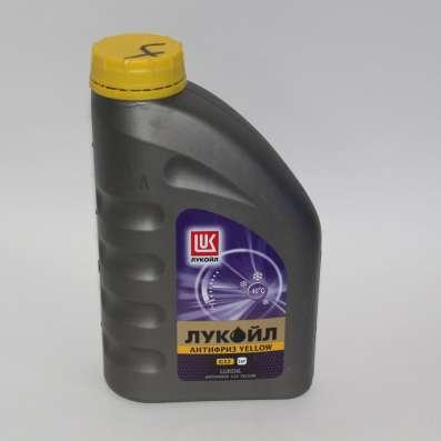 Антифриз ЛУКОЙЛ G-12 желтый 5 литров в Раменское Фото 2