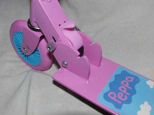 Самокат двухколесный 125 мм, свинка Peppa, розовый