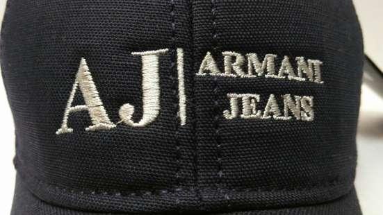 Armani Jeans blue бейсболка в Москве Фото 1