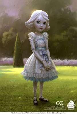 Дисней фирменное платье Фарфоровой куколки Оз в Москве Фото 1