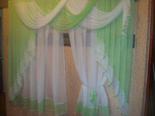 Красивые комплекты из легкой ткани вуаль на заказ