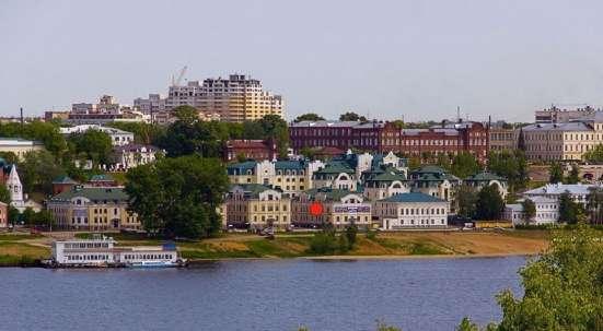 Продаём новое здание 1294 м² в центре Костромы, на берегу