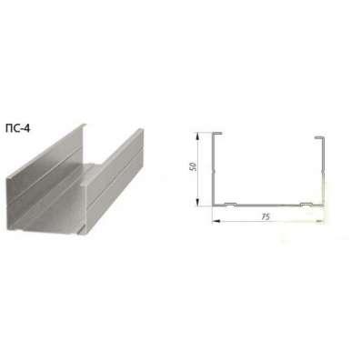 Профиль Албес ПС 75х50, 0,55мм, 3-хметровый