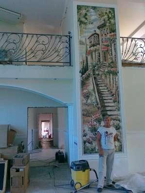 Рисую на стенах. Художественная отделка помещений