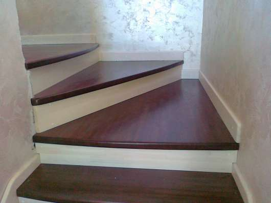 Деревянные лестницы в Иркутске Фото 4