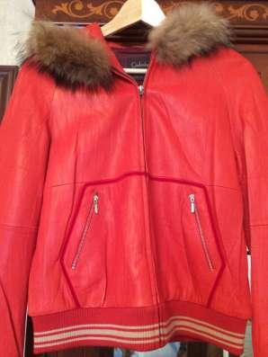 Продам куртку из натуральной кожи
