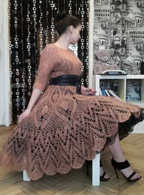 Авторское платье ручной работы