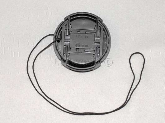 Крышка со шнурком для Sony 49mm в Москве Фото 1