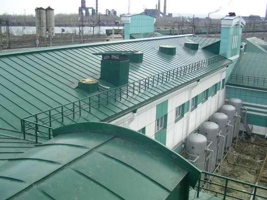 Фальцевая кровля в Москве Фото 3