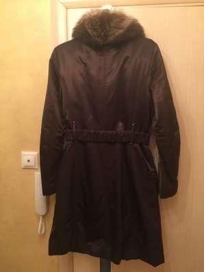 Продам зимнее пальто, подкладка кролик