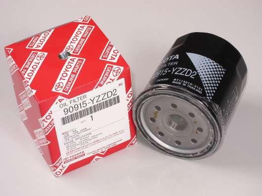 Фильтр масляный Toyota/Lexus 90915-YZZD2 оригинал