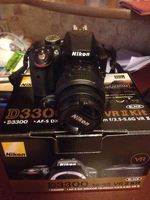Фотоаппарат Nikon D3300 18-55vr kit