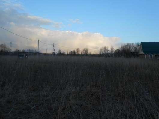 Продается земельный участок 12 соток в д. Шебаршино, Можайский р-он, 123 км от МКАД по Минскому шоссе.