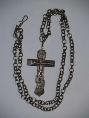 Крест иерейский наперсный, нач. ХХ века