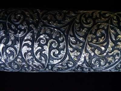 Кинжал серебряный