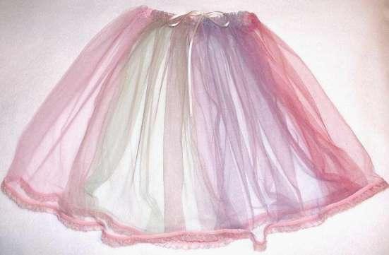 Новые юбки из фатина и атласа 1-10 лет