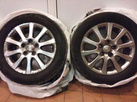 Колеса (шины+ диски) 16r 215/55