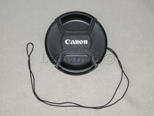 Крышка со шнурком для Canon 77mm