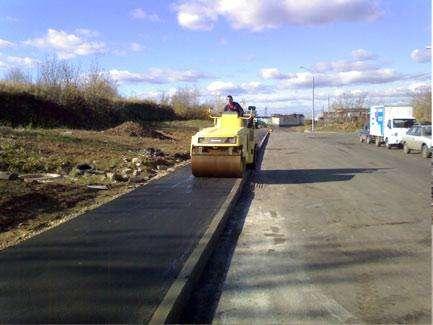 Асфальтирование дорог в Новосибирске Фото 2
